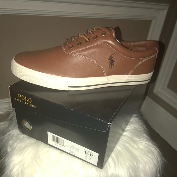 Newpolo Rl Mens Vaughn Leather Sneaker